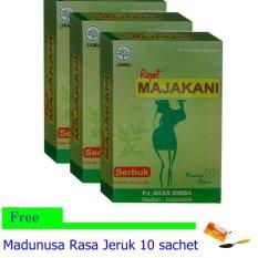 Harga Jamu Rapet Majakani Serbuk Khusus Wanita 3 Kotak Free Madunusa Jamu Herbal Nusantara Online