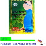 Jual Jamu Susut Perut Serbuk Plus Sirih 3 Kotak Free Madunusa Branded Original