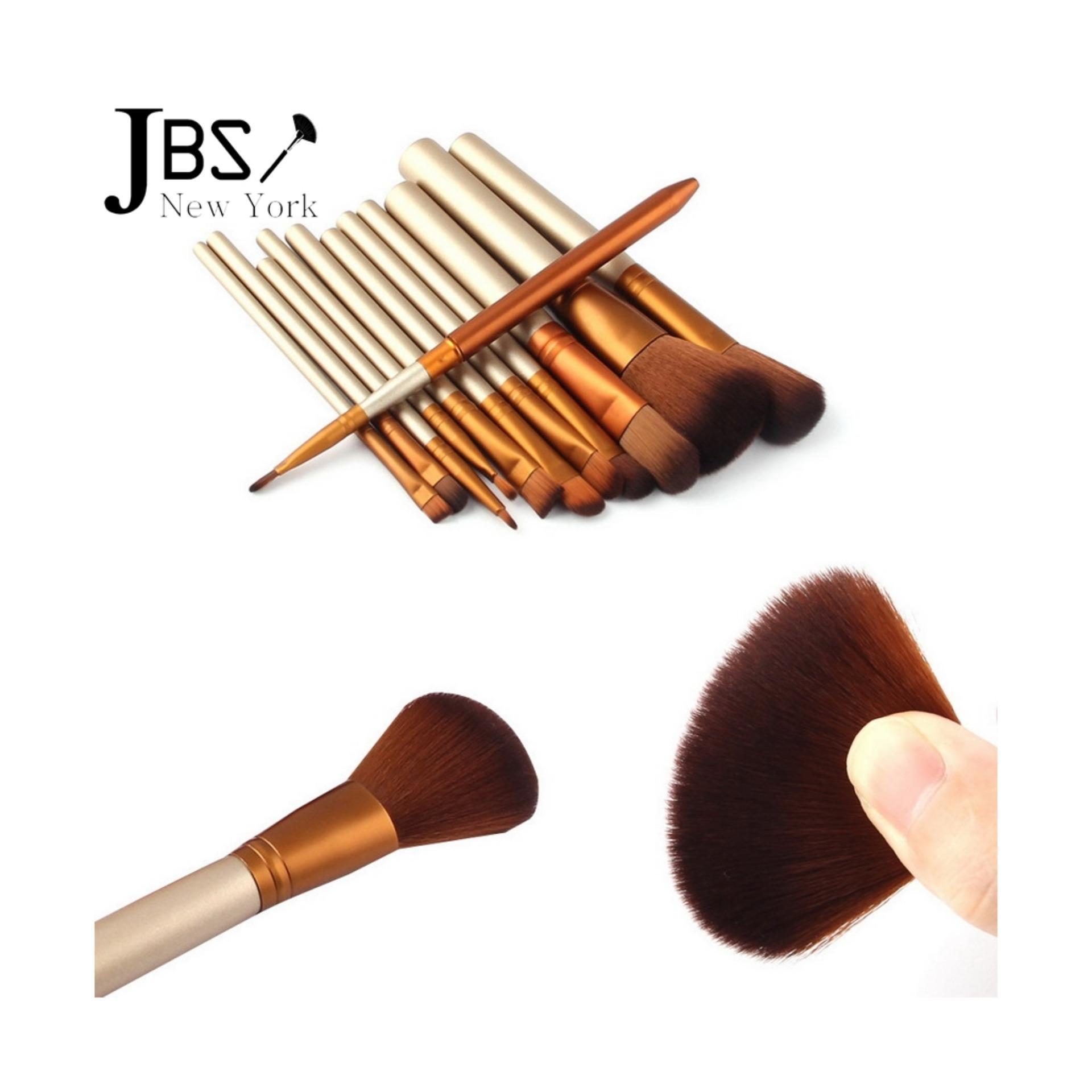 Beli Jbs New York Makeup Brush Profesional Kuas 12 N5 Set Hello Kitty Kaleng 7 Pcs Nkd