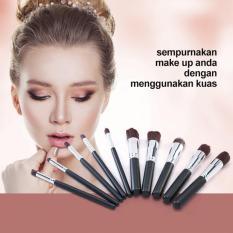 Katalog Jbs Set Kuas Makeup Brush Set Cosmetic Blending 10 Buah Jbs Terbaru