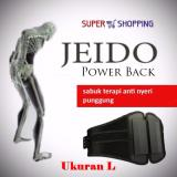Review Toko Jeido Power Back Ukuran L Sabuk Terapi Tulang Belakang Infrared