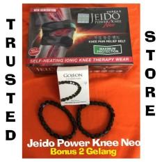 Harga Jeido Power Knee Neo Size L Generasi Terbaru Jeido Power Knee Bonus 2 Gelang Murah