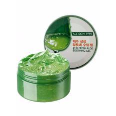 Toko Jeju Fresh Aloe Soothing Gel Aloe Vera 95 1Pc Lucky Jawa Barat