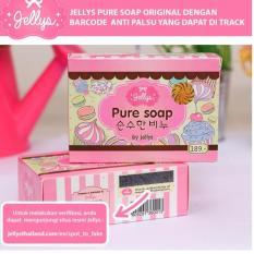 Harga Jellys Pure Soap By Jellys Original Thailand 100 Yang Bagus
