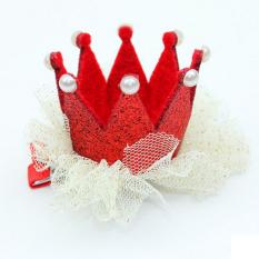 "Jetting Buy Jepit Rambut Mahkota Putri Lucu Yang Dapat Membuat Orang Yang Melihatnya Tertawa Terbahak-bahak atau Justru Kesal Karena Merasa 3D Renda Bandung Photo: ""merah"