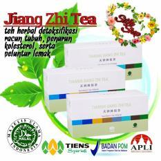 Beli Jiang Zhi Tea Tiens Teh Herbal Penurun Lemak Tekanan Darah Serta Mencegah Kolesterol Paket Dobel By Silfa Shop Tehhijauseger Baru
