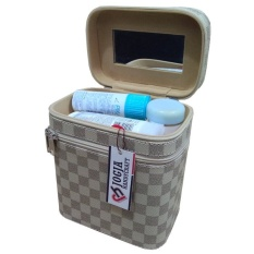Jogja Craft Box Make Up / Kotak Make Up Beauty Case - Azzure