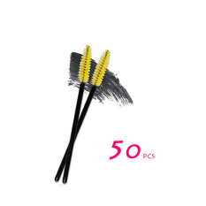 Jo. Di Makeup Bubuk Sikat Kecantikan Alat Kuas Bulu Mata Mascara Sikat Sisir Bulu Mata Bulu Mata Stick 50