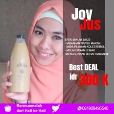 Review Tentang Joy Jus Original 100 Jus Pelangsing Herbal Alami