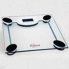 Kabuto Timbangan Badan Digital tempered glass - kotak