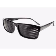 Toko Kaca Mata Kacamata Terapi Pinhole Black Lengkap
