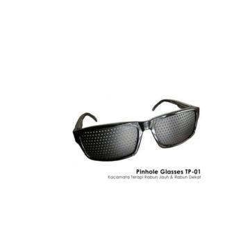 Jangan menunggu Buy sekarang Kacamata Pinhole Terapi Kesehatan Mata ... 380b657eb7
