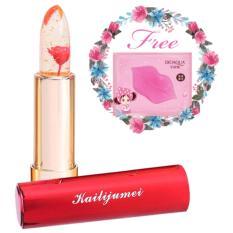 Jual Kailijumei Lipstick Original Free Bioaqua Masker Bibir Pink Murah