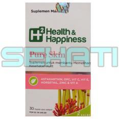 Ulasan Lengkap Kalbe Biokos H2 Health Happiness Pure Skin 30 Kaplet
