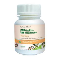 Kalbe H2 Health & Happiness Fair Skin to Help Maintaining Healthy Skin-30 tablet