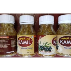 Kamil Minyak Zaitun 70 Kapsul Kamil Extra Virgin Olive Oil Kapsul
