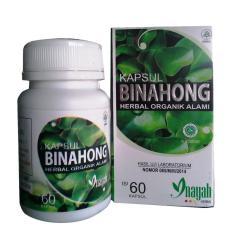 Kapsul Binahong Herbal Organik Alami - 60 Kapsul