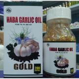 Spesifikasi Kapsul Haba Garlic Oil Gold Bawang Putih Isi 200 Kapsul Dan Harga