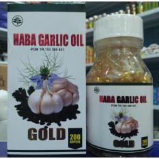 Harga Kapsul Haba Garlic Oil Gold Bawang Putih Isi 200 Kapsul Seken