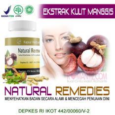 Jual Kapsul Herbal Natural Remedies Esktrak Kulit Manggis Dan Daun Sirsak Murah