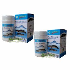 Toko Kapsul Pro Albumin Ekstrak Ikan Gabus Paket 2Pcs Di South Sumatra
