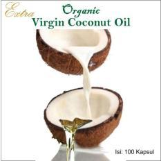 Kapsul VCO Virgin Coconut Oil Kapsul Minyak Kelapa Murni / Dara Curah (1000 biji)