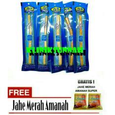 Toko Kayu Siwak Miswak Original 5 Pcs Jahe Amanah Termurah Dki Jakarta