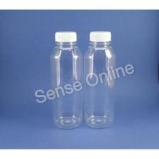 Kemasan Botol Jus Kale Minuman Puding Plastik PET Bening  500 Ml