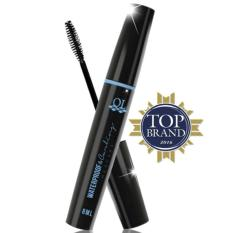(KEMASAN HITAM) QL WATERPROOF & CURLING MASCARA - BLACK