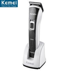 Spesifikasi Kemei Hair Clipper Km 6166 Washable Alat Cukur Rambut Electrik