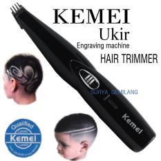 Toko Kemei Km 1850 Alat Cukur Rambut Ukir Tato Charger Engraving Machine Hair Trimer Murah Di Dki Jakarta