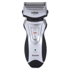 Kemei KM-8007 Rechargeable Cordless Electric Shavers Razor Facial Beard Use  Groomer Trimmer for Men a64df3509f