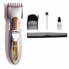 Toko Kemei Mesin Cukur Km 605 Rechargeable Hair Clipper Waterproof Dekat Sini