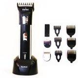 Miliki Segera Kemei Rechargeable Hair Clipper Alat Cukur 3In1 Bayi Dan Dewasa 3006 Hitam