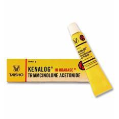 Spesifikasi Delin Store Kenalog In Orabase 5 Gram 1 Tube Bagus