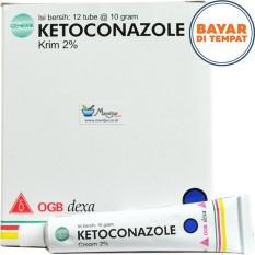Ketoconazole Cream - Gatal- Panu- Kudis- Kurap- Kutu Air- Eksim- Kadas