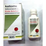 Ketomed Scalp Solution Menghilangkan Ketombe Shampo Anti Ketombe Shampoo Anti Jamur 60 Ml Ketomed Diskon 30