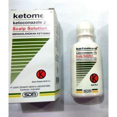 Ketomed SS Scalp Solution Menghilangkan Ketombe - Shampo Anti Ketombe - Shampoo Anti Jamur - 60 ml