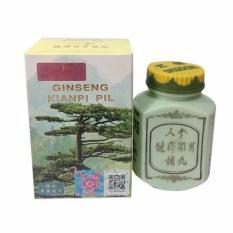 Kianpi Pil Ginseng - Suplemen Penambah Nafsu Makan Penggemuk Badan - 60 Capsule Original