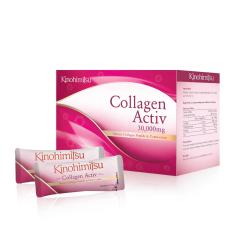 Ulasan Tentang Kinohimitsu Collagen Activ Powder 30000Mg Collagen 30 Sachet