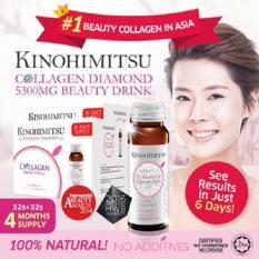 KINOHIMITSU JAPAN COLLAGEN DIAMOND DRINK 5300 mg BPOM 6 x 50 mL