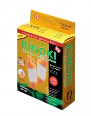 Jual Kinoki Koyo Kaki Herbal Detox Foot Patch Gold 10 Box Isi 100Pcs Baru