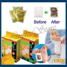 Kualitas Kinoki Koyo Kaki Herbal Detox Foot Patch Gold 5 Kotak Isi 50 Pcs Kinoki