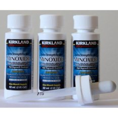 Jual Kirkland Minoxidil 5 60 Ml Penumbuh Rambut 3 Botol Gratis Pipet Original Original