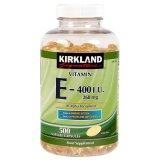 Harga Kirkland Signature Vitamin E 400 Iu 500 Softgels