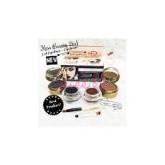 KISS BEAUTY 2IN1 24 HOURS - EYEBROW POWDER + MAGIC EYELINER GEL