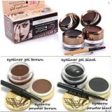 Penawaran Istimewa Kiss Beauty Waterproof Gel Eyeliner Eyebrow 2 In 1 Terbaru