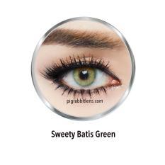 Diskon Sweety Batis Green Softlens Minus 00 Normal Gratis Lenscase