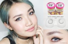 Jual Kitty Kawaii Jinnie Grey Softlens Normal Gratis Lens Case Original
