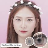 Obral Kitty Kawaii Mini Ava Brown Softlens Minus 5 50 Gratis Lenscase Murah